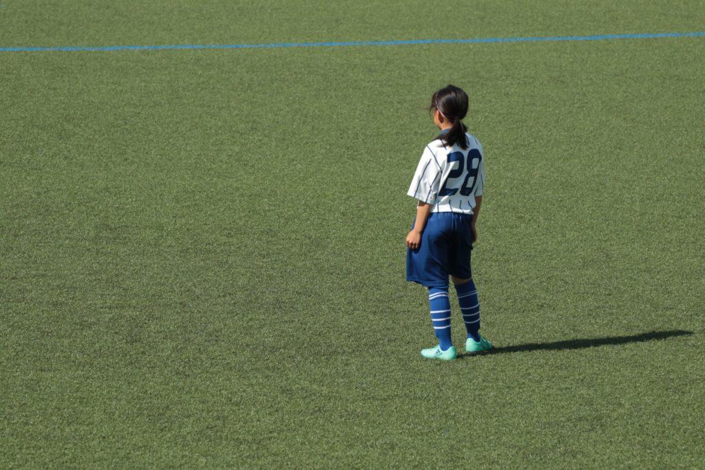 三田・西宮の虎ジュニア。u12女子サッカースクール。イメージ