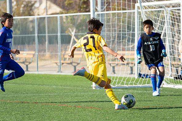 三田・西宮の虎ジュニア。u12少年サッカースクール・チームの精神。